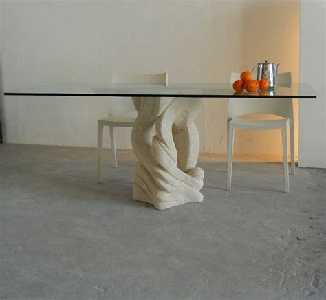 tavolo pietra tavolo in pietra e cristallo australe