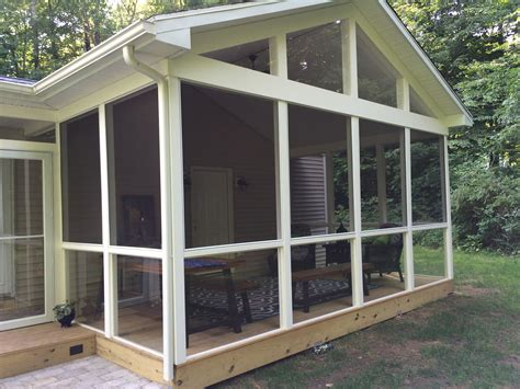 backyard screened porch st louis screened porches your backyard is a blank
