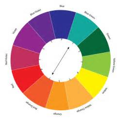 colors opposite on the color wheel complementary colors tutorial webucator