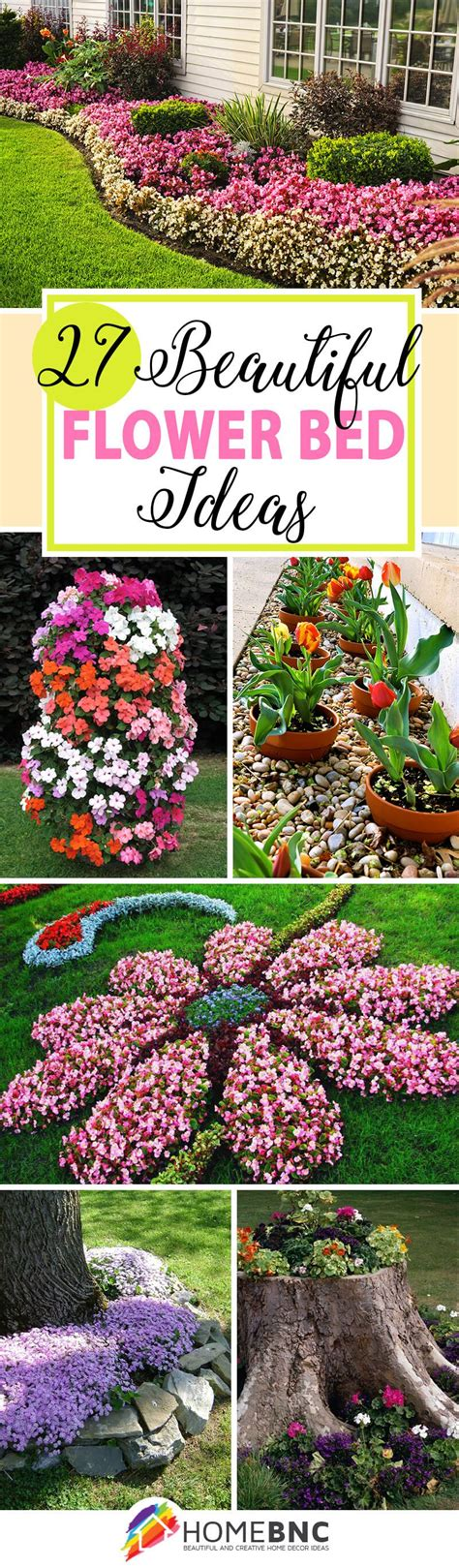 design flower beds free 27 gorgeous and creative flower bed ideas to try flower