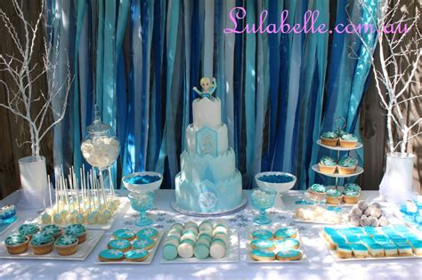 Frozen Table by Frozen Cake Table Decoration Ideas 50632 Dessert Tables Pu