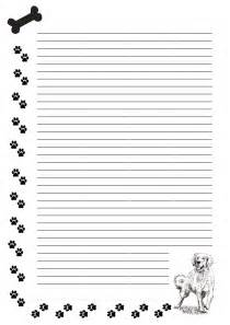Dog Writing Paper Free Stationary Dog Paws By Cpchocccc On Deviantart