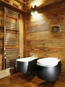 rustikale badezimmer bad aus holz gestalten ideen f 252 r rustikale badeinrichtung