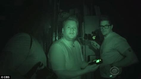 ghost images vision corden communicates with a spectre in a spooky