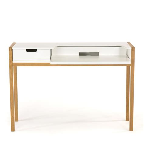 bureau bois scandinave bureau scandinave farringdon par drawer fr