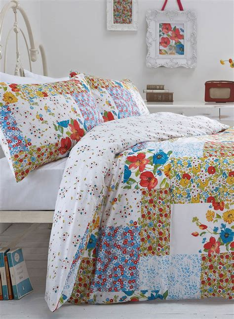 Bhs Duvets by Multi Summer Patchwork Bed Set Bedding For The Home