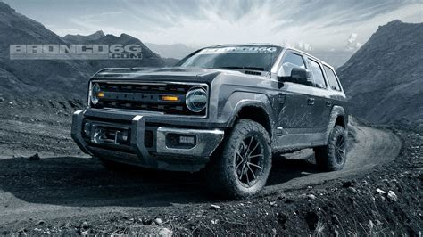 2020 Ford Bronco With Removable Top by 2020 Ford Bronco Will Four Doors And 325 Hp