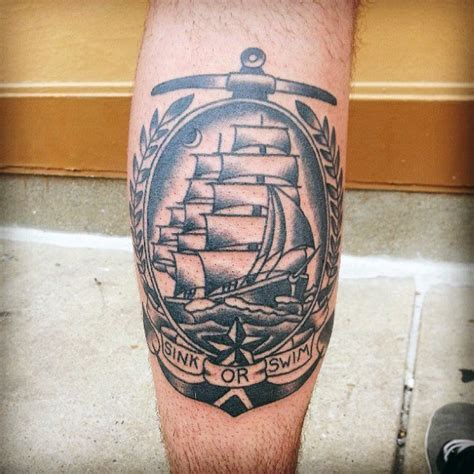 boat anchor tattoos 60 traditional ship designs for nautical ink