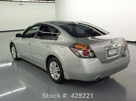 nissan altima sunroof purchase used 2011 nissan altima 2 5 sl leather sunroof