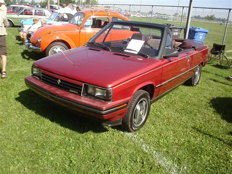 1985 renault alliance convertible 80 s 90 s everyday cars you don t really see anymore