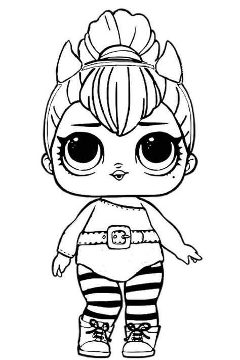 spice lol doll coloring pages lol surprise doll coloring