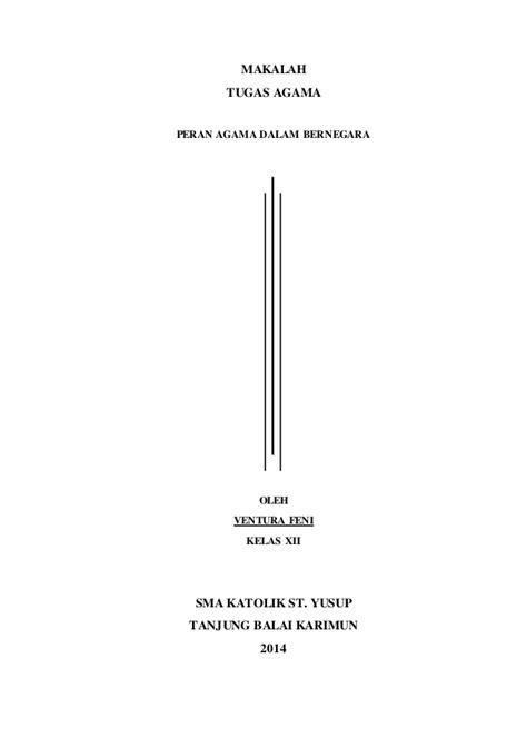 format makalah agama islam contoh makalah agama