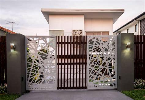 imagenes de portones modernos minimalistas portones de metal para casas