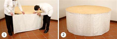tovaglie per tavoli rotondi b10 2 5 buffet circolare salabar it