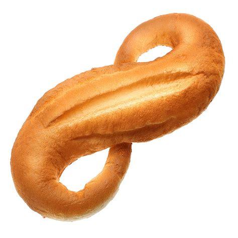 Squishy Bread Bakery squishy jumbo 8 shaped bread 28cm rising bakery