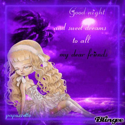 good night  dear friends picture  blingeecom