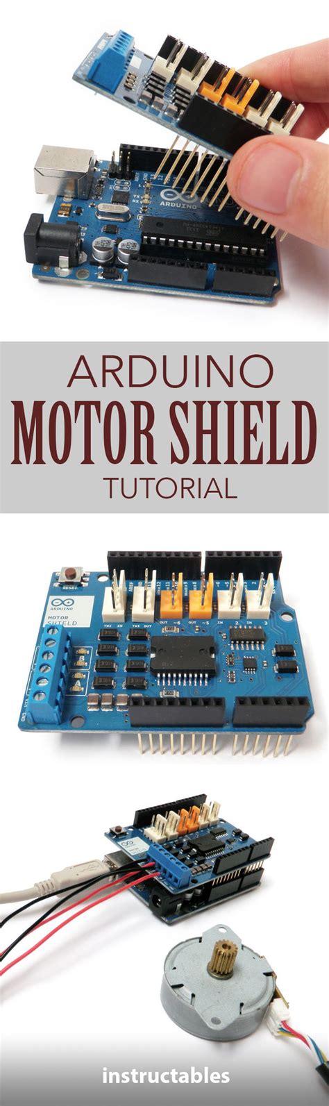 tutorial arduino motor shield 25 best ideas about motor shield arduino on pinterest