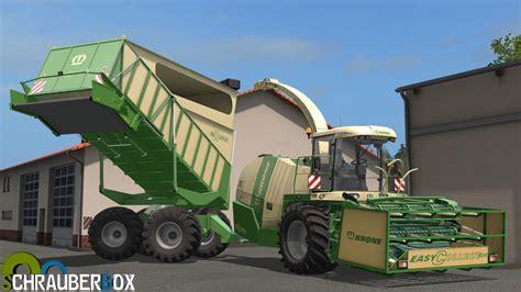 Big X krone big x 1100 cargo v 1 0 fs17 ls17 farming simulator