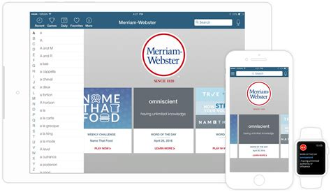 dictionary  word game apps merriam webster