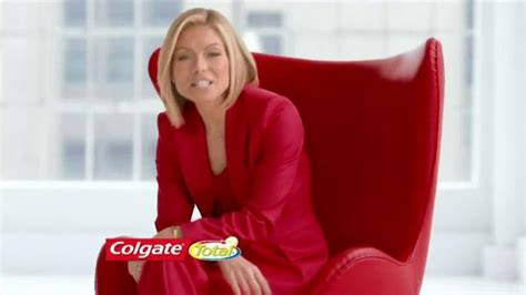 kelly ripa colgate commercial colgate total tv spot healthier whiter featuring