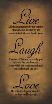 Live Love Laugh Quotes by Live Laugh Love Quotes