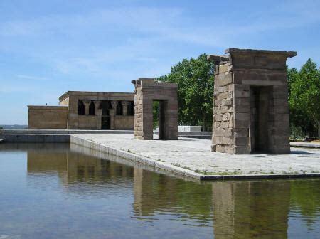 temple of debod madrid spain debod temple in madrid spain
