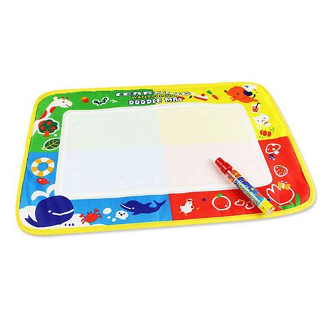 magic doodle pen review high quality lepin 4 color water drawing painting mat