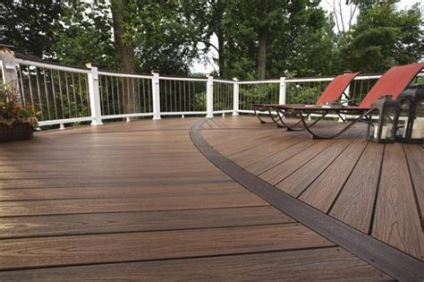 trex curved deck traditional deck other by