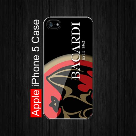 bacardi rum logo cacs for iphon 5c iphone 5 bacardi rum logo iphone 5 black