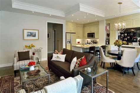 kitchen living room and dining room together bringing the pieces of the pie together toronto