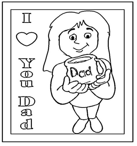 i love you dad coloring pages coloring home