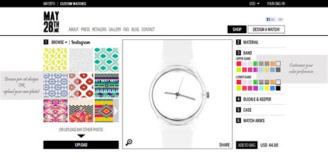 design your own watch diy watch customize your own with may28th my little