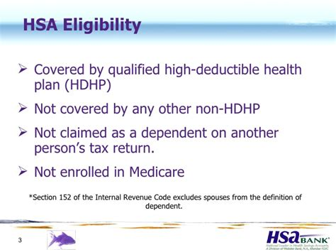 section 152 dependent hsa employee overview