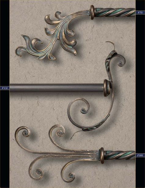 Wrought Iron Drapery Rods And Finials 1000 ideas about wood curtain rods on wooden curtain rods contemporary curtain