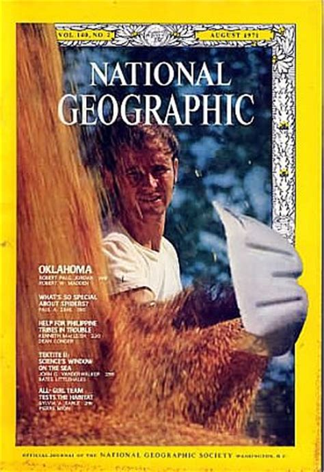National Geographic 1971 Jual Satuan backissues national geographic august 1971 product details