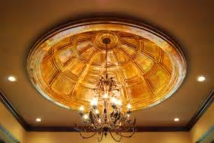 ceiling domes smooth ornate coffered