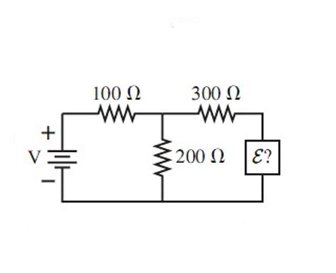 what do resistors do for what emf e does the 200ohm resistor in the fol chegg