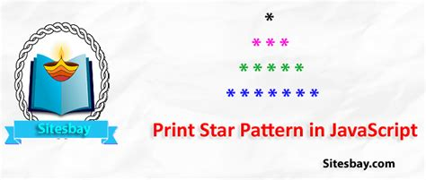 pattern en javascript print star pattern in javascript javascript programs