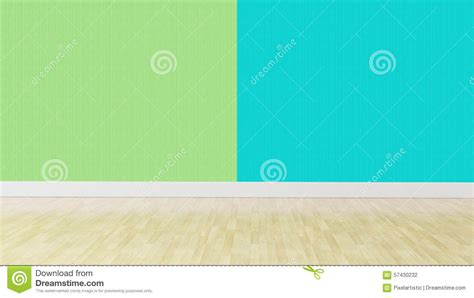 green combination green blue pastel color interior background stock photo