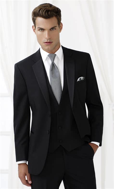 yves fitted two button tuxedo formal dimensions