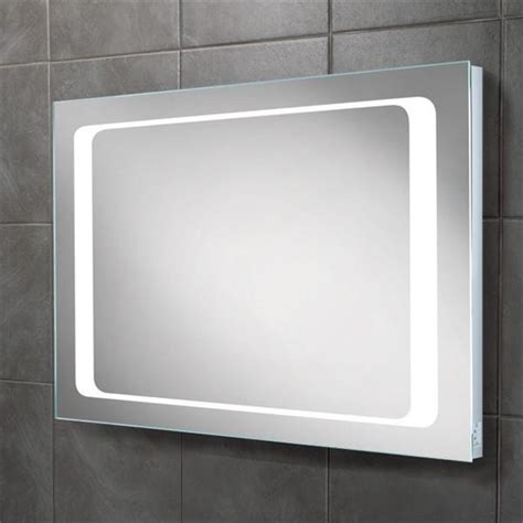 Led Lit Bathroom Mirrors Hib Axis Landscape Led Back Lit Bathroom Mirror