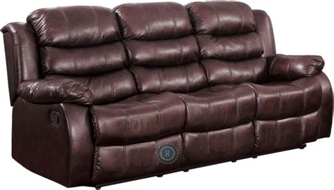 burgundy reclining sofa smithee burgundy double reclining sofa from homelegance