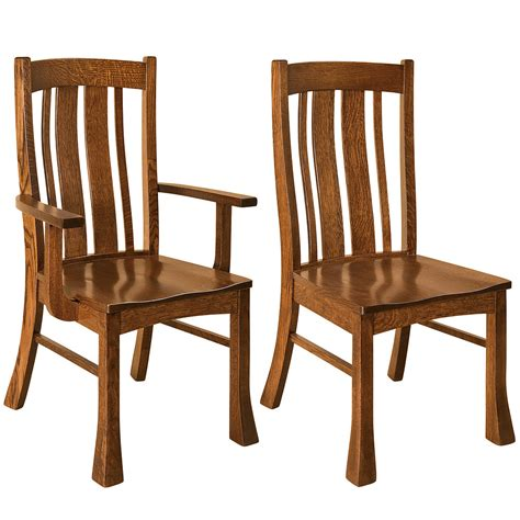 raleigh quartersawn white oak bar stool gallery in breckenridge dining chairs amish dining furniture