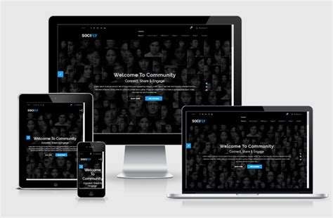 socifly multipurpose social network html5 template by