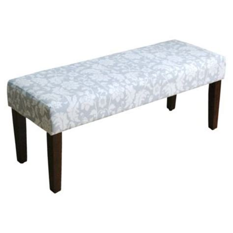 threshold x bench threshold bench marble floral gray my quot target home