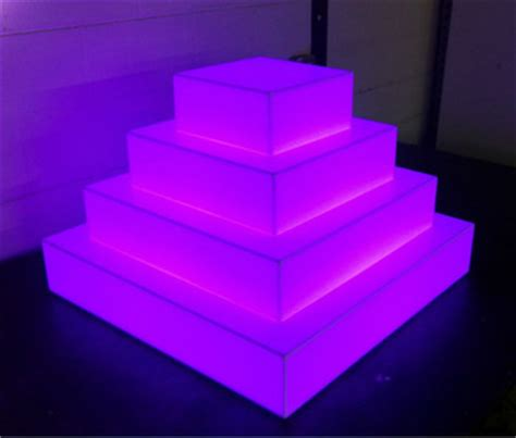 led light stand for acrylic rgb color lighted acrylic cake stand buy lighted acrylic