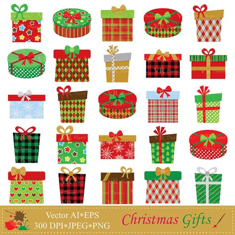 christmas gifts clip art christmas presents clipart