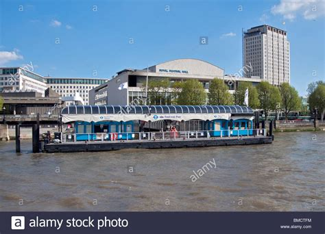 thames river cruise piers royal festival hall and festival pier river thames
