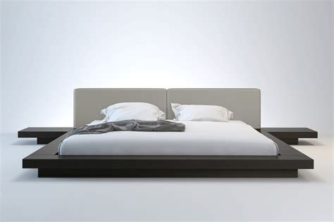 contemporary bed designs arata japanese platform bed haiku designs