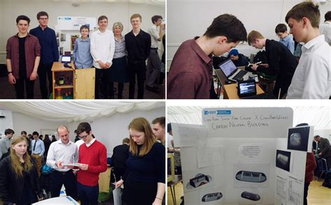 physics students present  engineering education scheme projects long road sixth form college